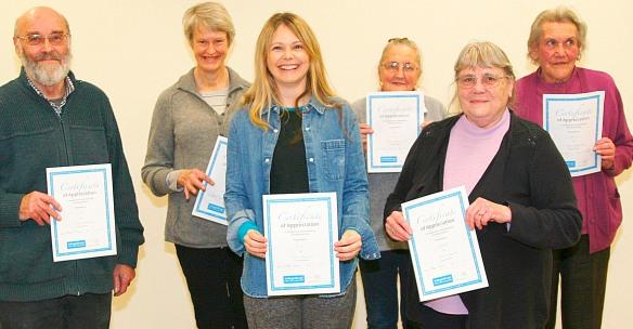 coton village hall caretaker volunteers