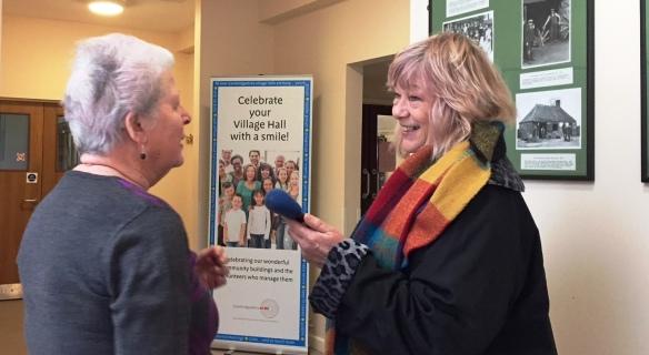 Sue Marchant talks to Anne Bullman, Chair