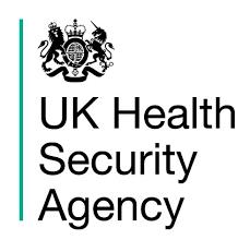 UK Health Security Agency logo